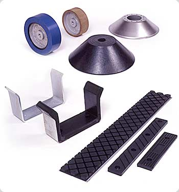 Bonded Rubber Bumpers and Components