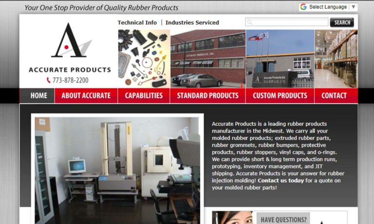 Accurate Products, Inc.