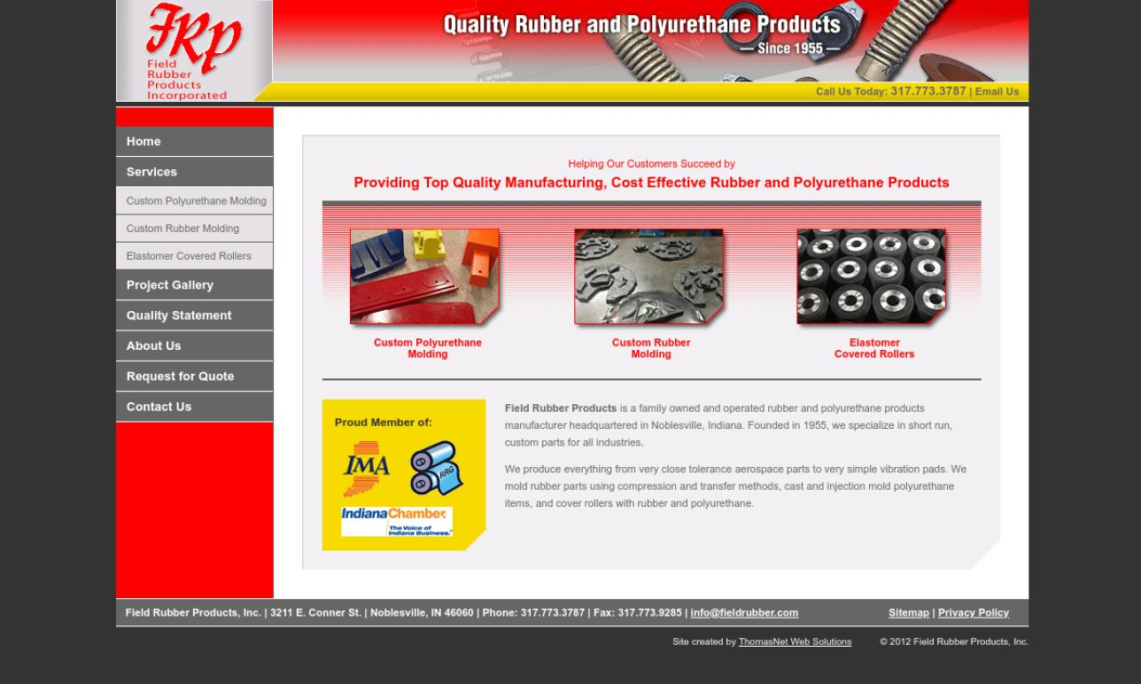 Field Rubber Products Incorporated
