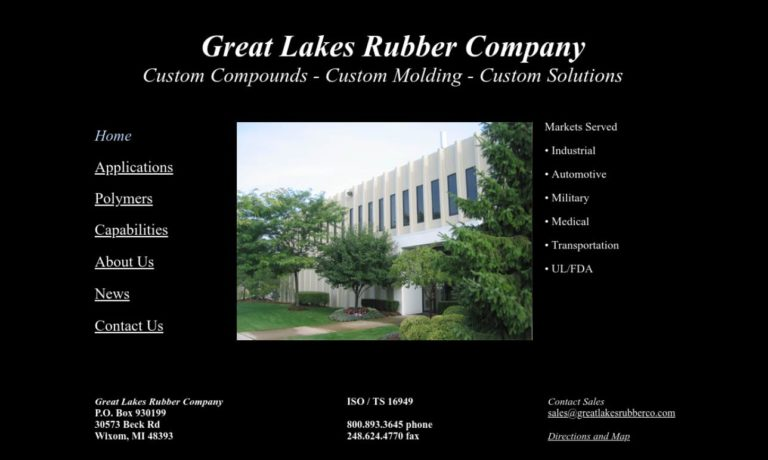 Great Lakes Rubber Company, Inc.