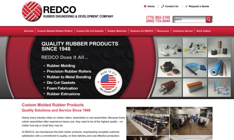 REDCO Rubber Engineering & Development Company