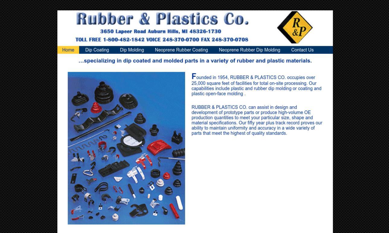 Rubber & Plastics Co.