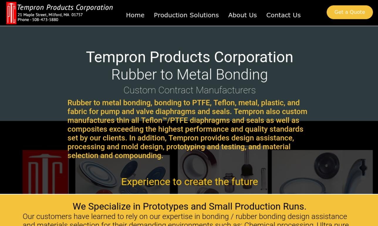 Tempron Products Corp.